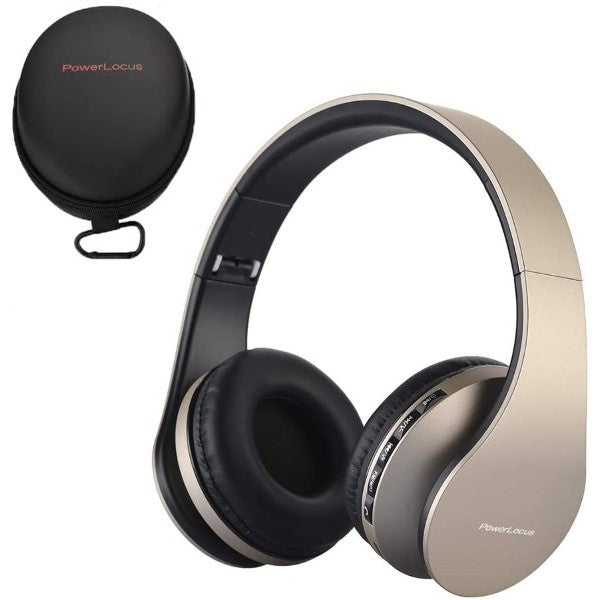 Foldable Headphones with Bluetooth P1 Golden (Refurbished A+)