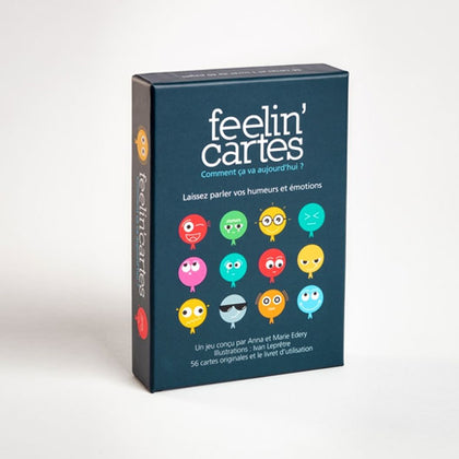 Feelin' Cartes • 52 cartes émotions et humeurs