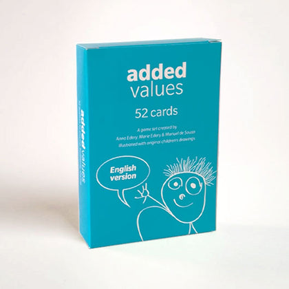 Added Values • Card game with original children's drawings