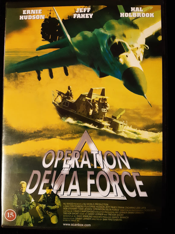 Operation Delta Force DVD