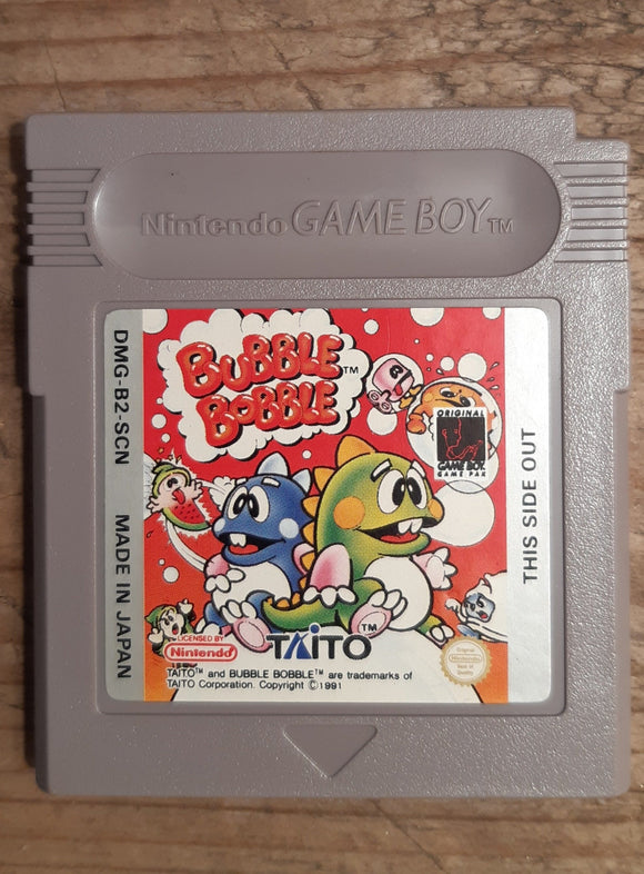 Bubble Bobble - Game Boy
