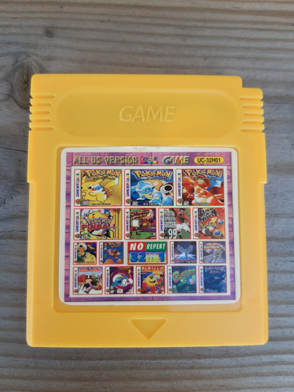 32in1 pelipaketti - Game Boy Color
