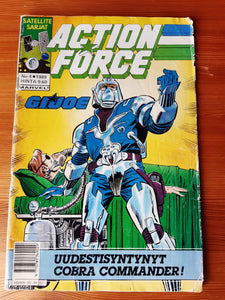 Action Force G.I.JOE sarjakuvalehti No 4-1989