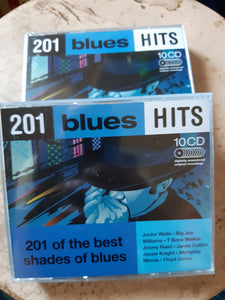 201 Blues Hits 10 CD:n kokoelma