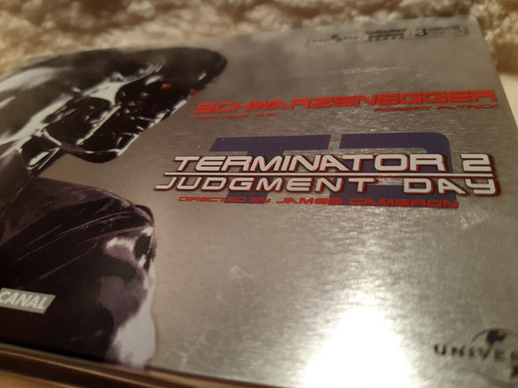 Terminator 2 Judgement Day - 3 DVD