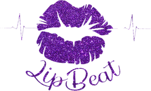 The Lip Beat Logo, Purple, Lips, Black Entrepreneur, Small Business, Lip Gloss, Vegan, Cruelty, Facebook. Instagram, Twitter, Youtube, Pinterest, Pretty