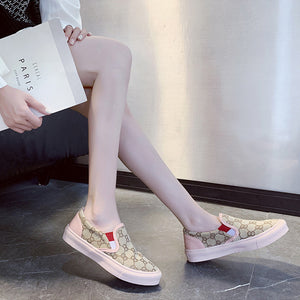 Top Selling Shoe Sneakers For Women Sweet Beauty Comfortable Flat Shoes