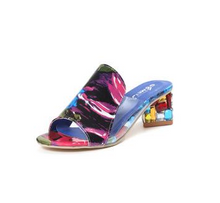 Load image into Gallery viewer, Female with fish mouth sandals - onekfashion