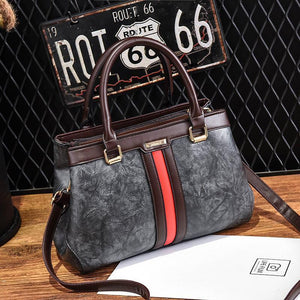 Big capacity retro messenger bag - onekfashion