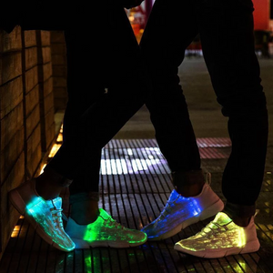 2019 New Fashion LED Luminous Casual Couple Shoes