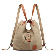 Load image into Gallery viewer, Classic multifunctional canvas bag