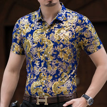 Load image into Gallery viewer, 2020 summer cool ice silk shirt