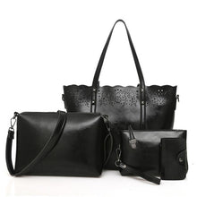 Load image into Gallery viewer, Classic four-pieced set of elegant lady bags - onekfashion
