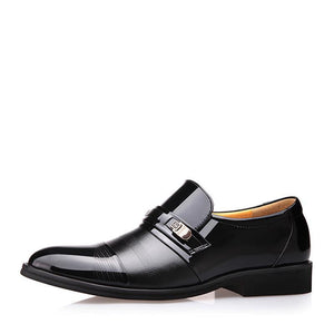 2019 New Business Style Leather Shoes - onekfashion