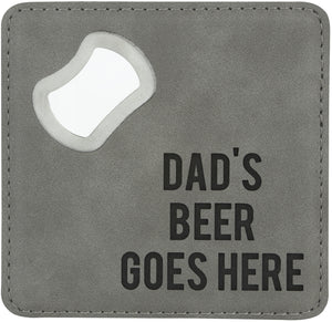 Bottle Opener Coaster