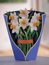 Load image into Gallery viewer, Daffodils Freshcut Paper Bouquet