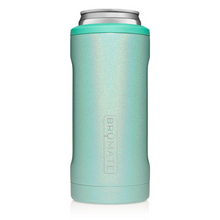 Load image into Gallery viewer, Brumate Hopsulator Slim Cooler | Glitter Aqua