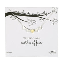 Load image into Gallery viewer, Many Hearts One Family Necklace