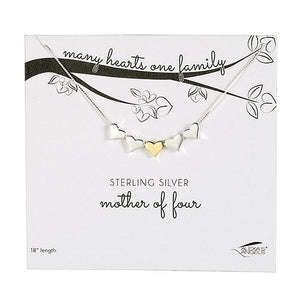 Many Hearts One Family Necklace
