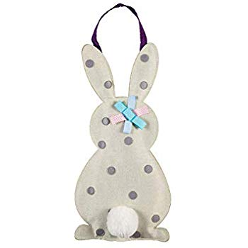 Polka Dot Bunny | Door Decor