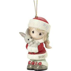 Precious Moments 2020 Dated Girl Ornament