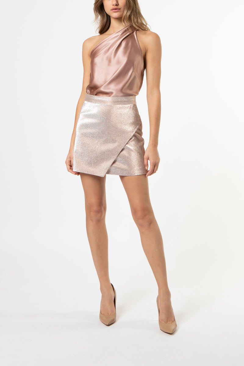 wrap mini skirt - ballet