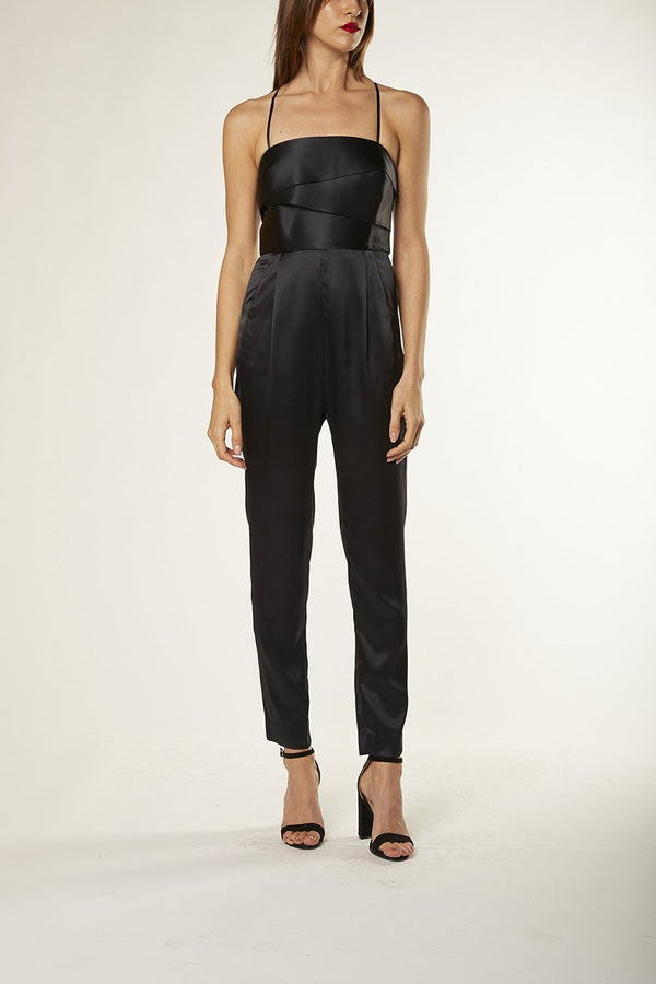 BANDED JUMPSUIT - midnight