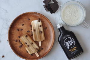 Cold Brew Coffee Popsicles