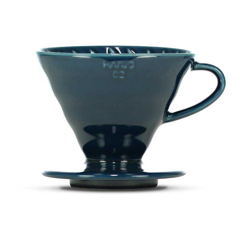 Hario V60 Indigo Blue Coffee Dripper is made for brewing the best filter coffee.