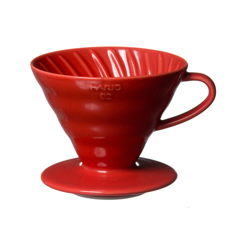 Hario V60 Red 02 Coffee Dripper is made for brewing the best filter coffee.