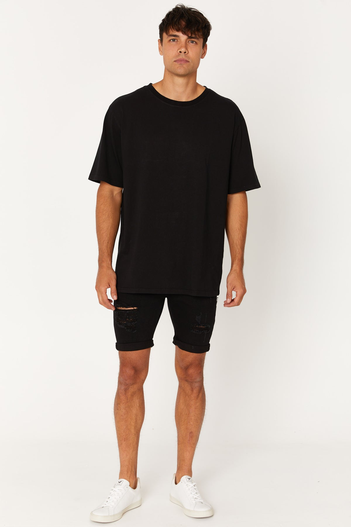 Relaxed Tee Stone Black