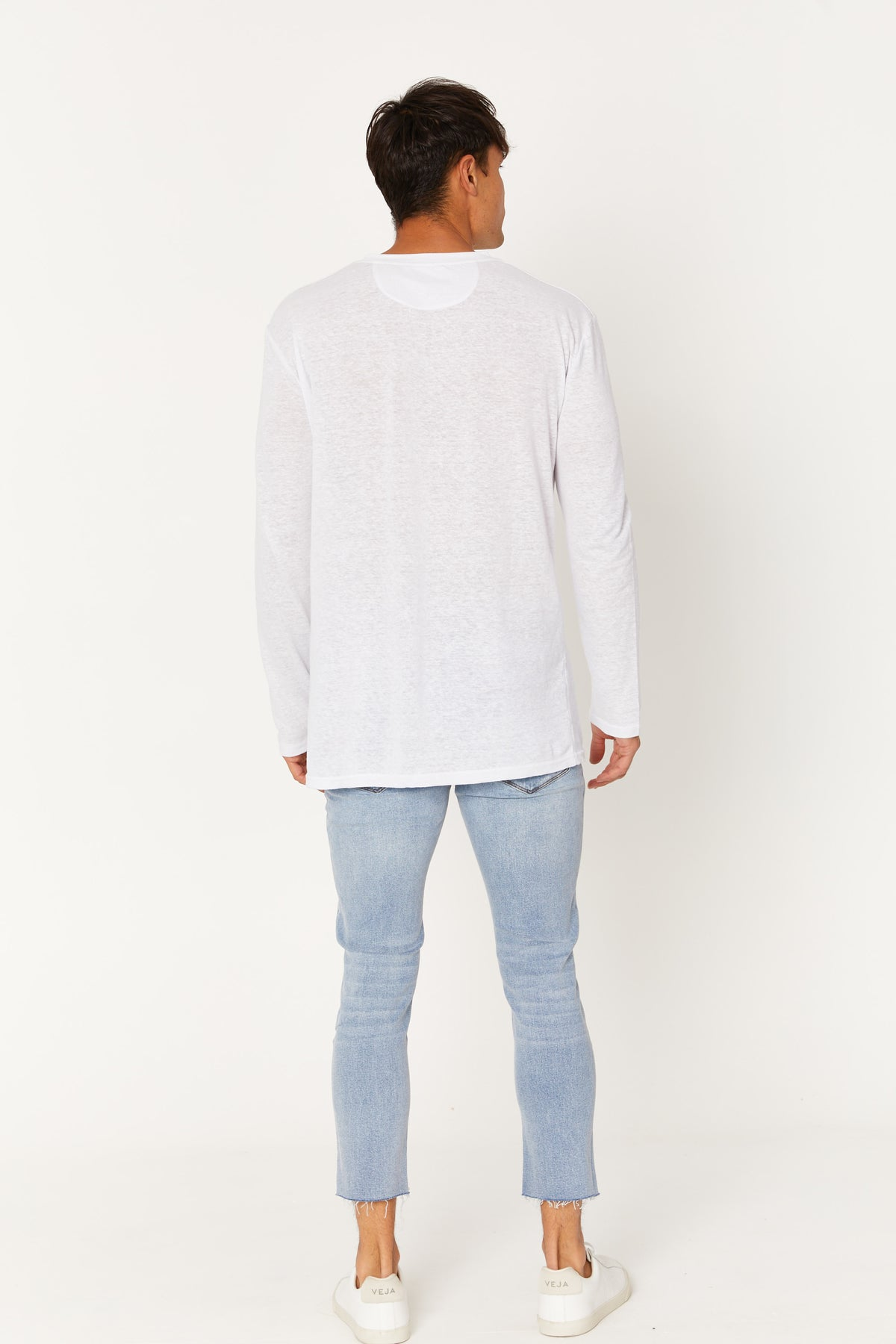 NTH Linen Long Sleeve White