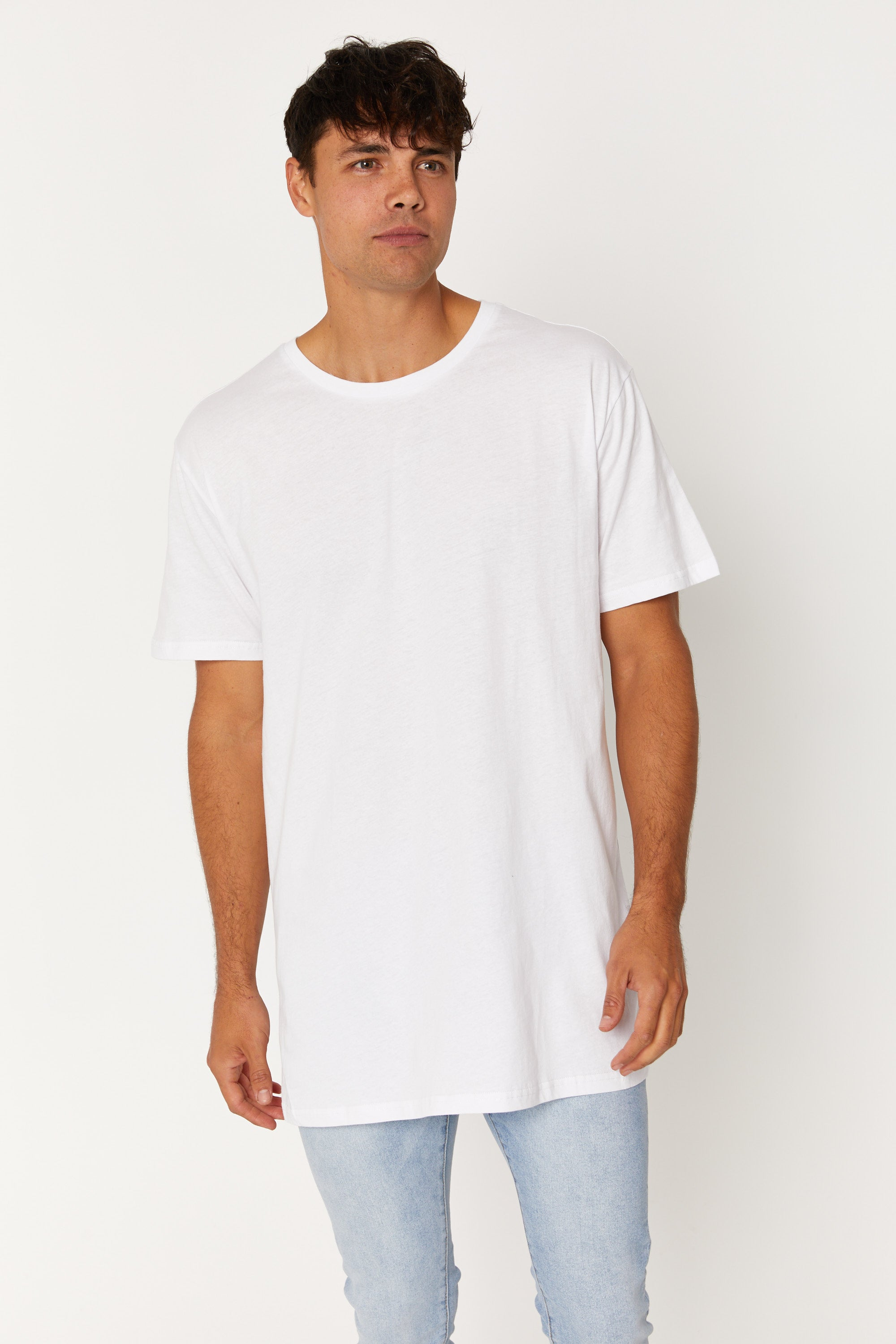 Nth Soft Wash Tee White