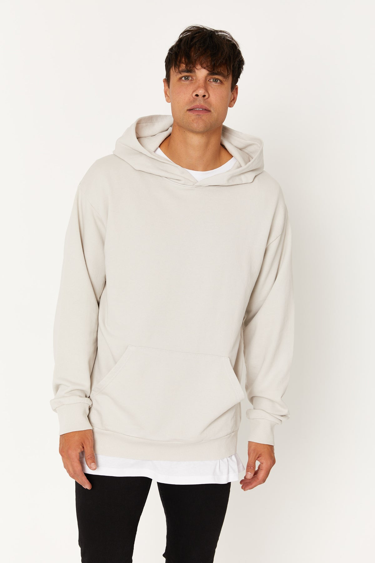 Luke Soft Hoody Putty
