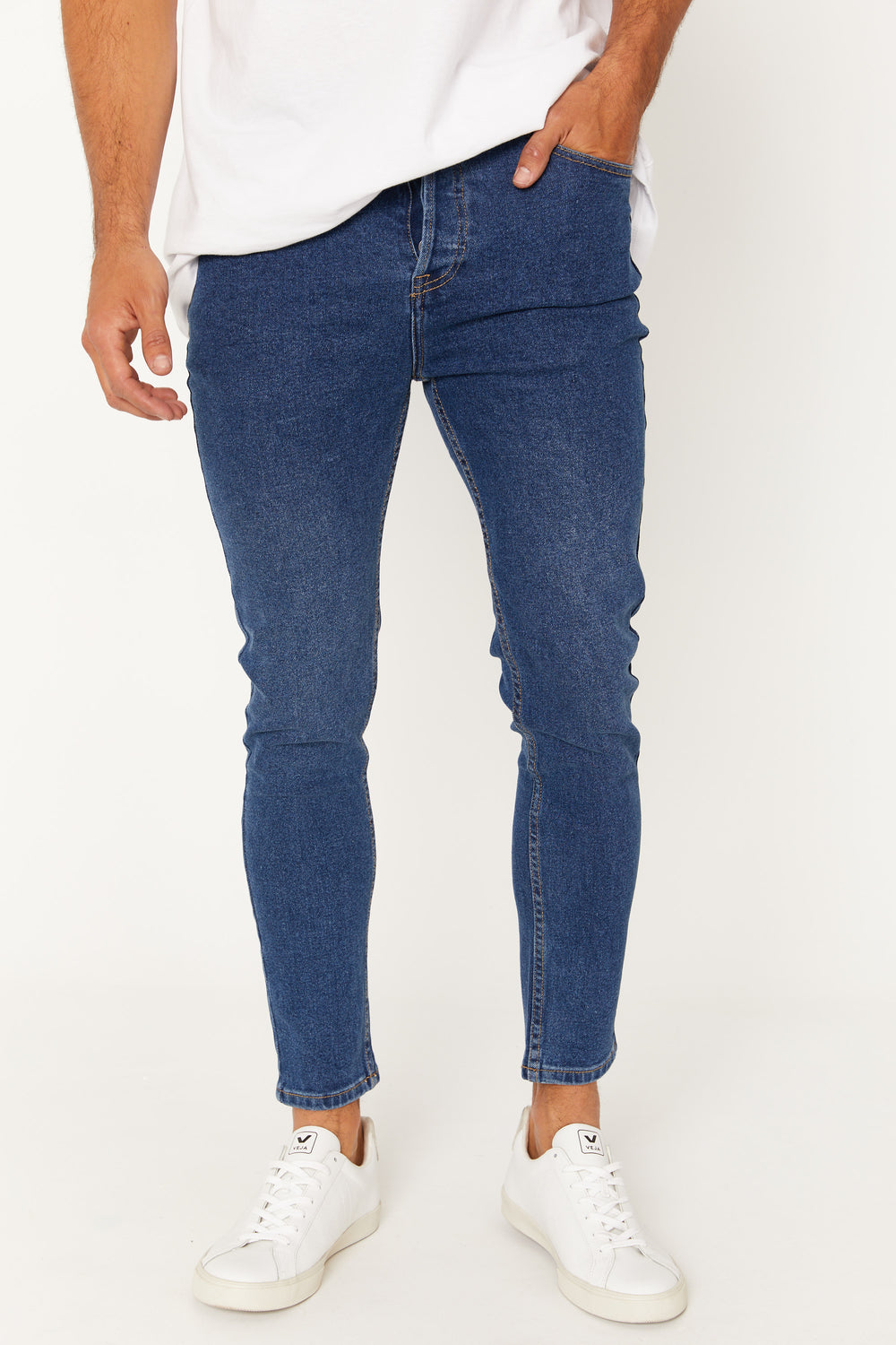 NTH Real Skinnys Dark Blue