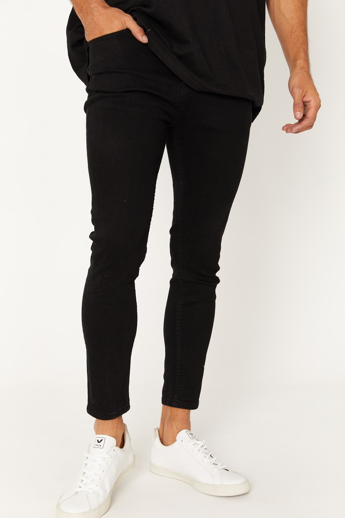 Nth Real Skinnys Solid Black