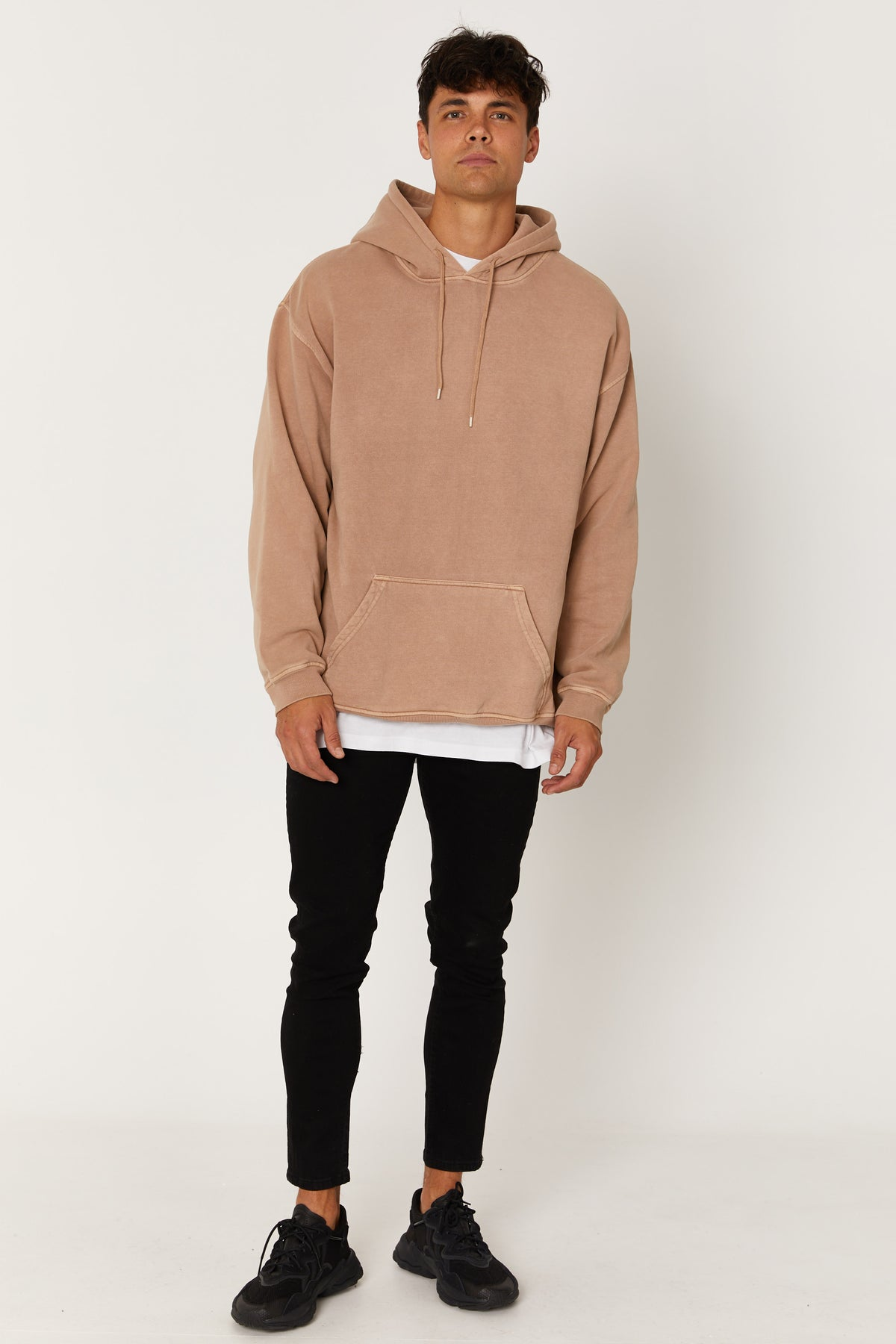 Washed Hoodie Sand