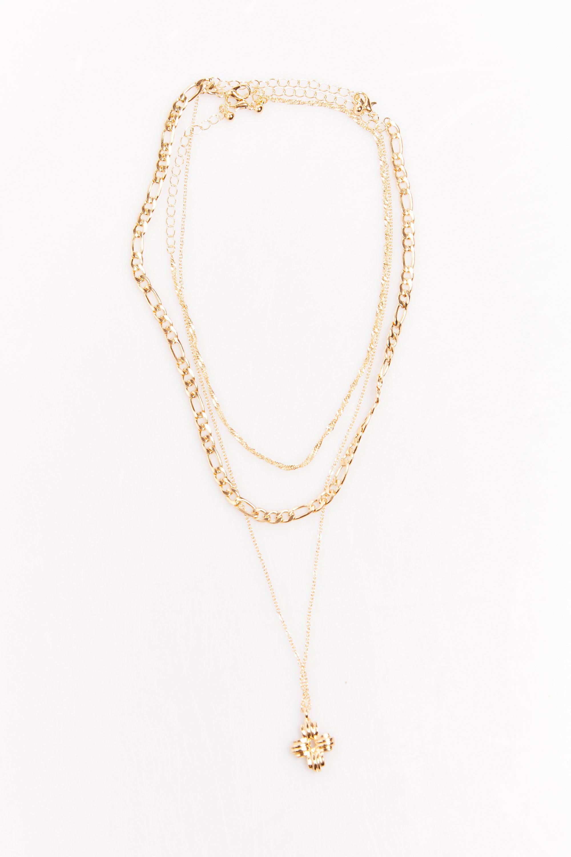 Liloh Chain Necklace Gold