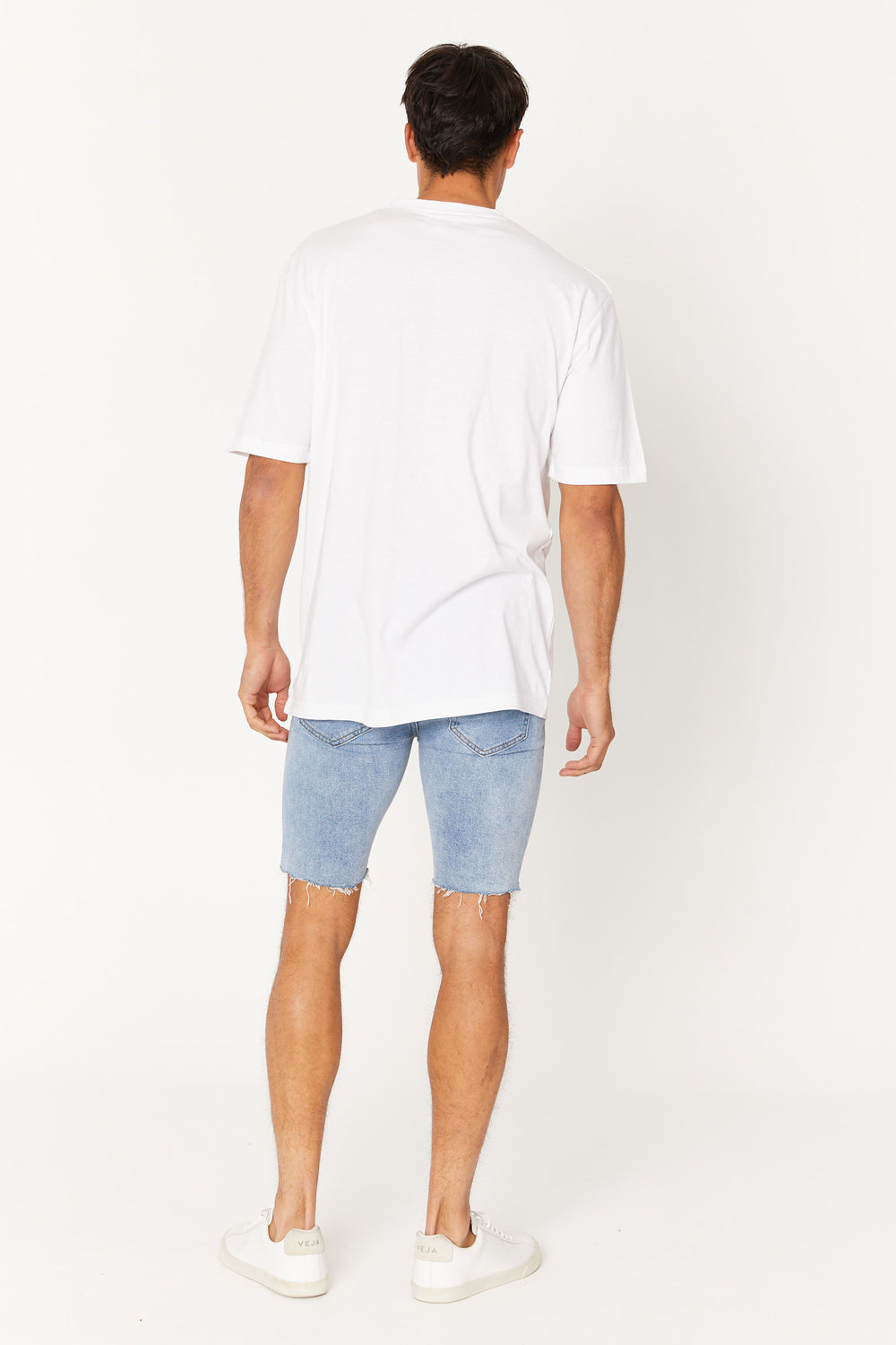 Billy Denim Short Blue