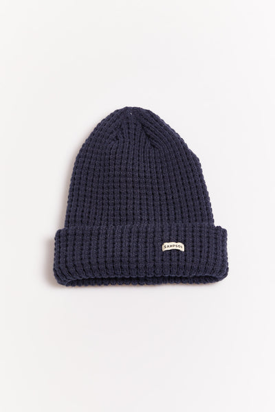 Sampson Knit Beanie Navy