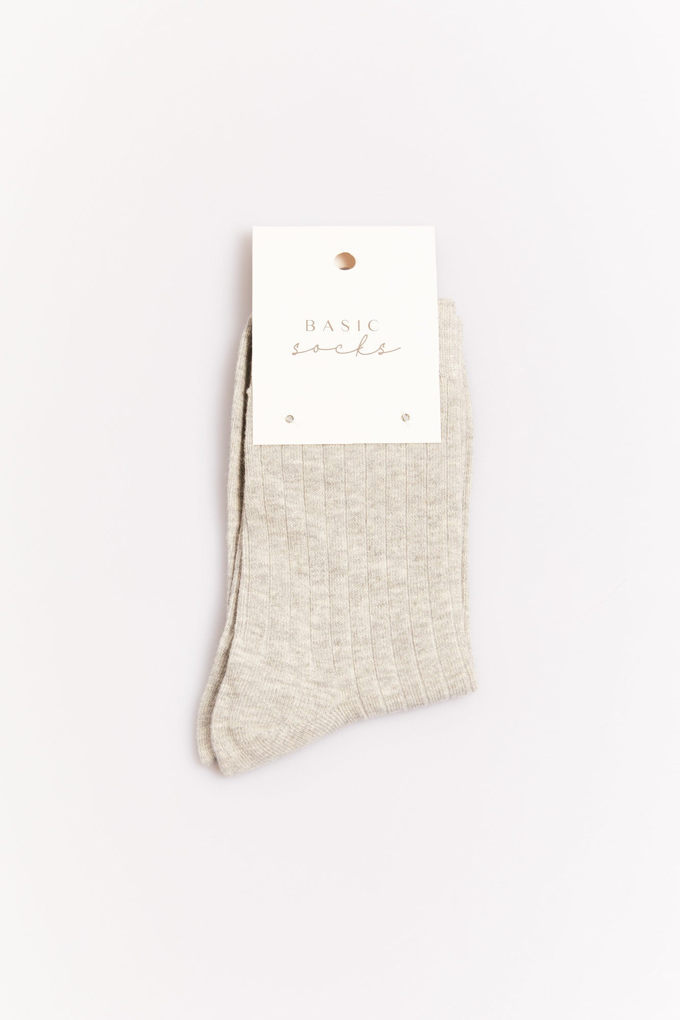Ruena Basic Sock Grey