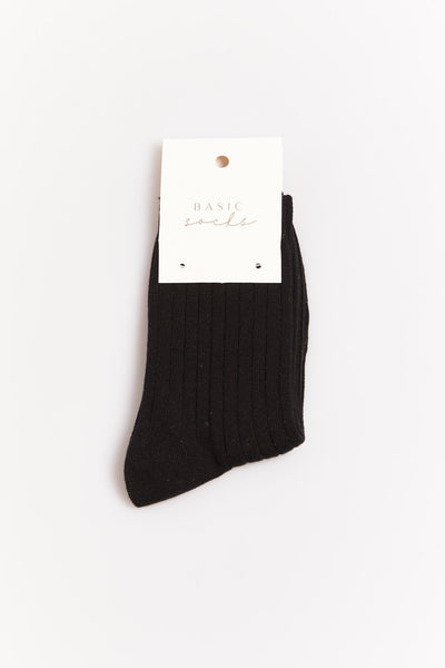 Ruena Basic Sock Black