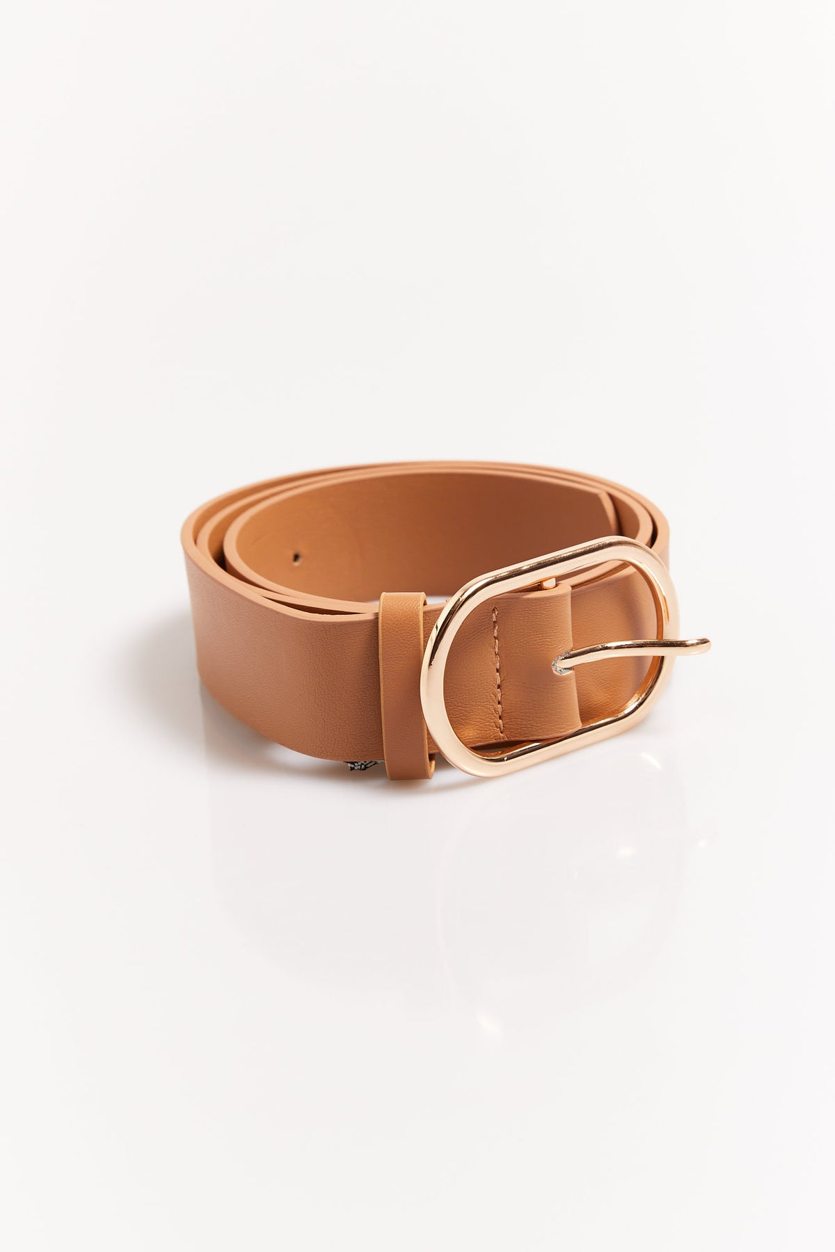 Oval Belt Tan