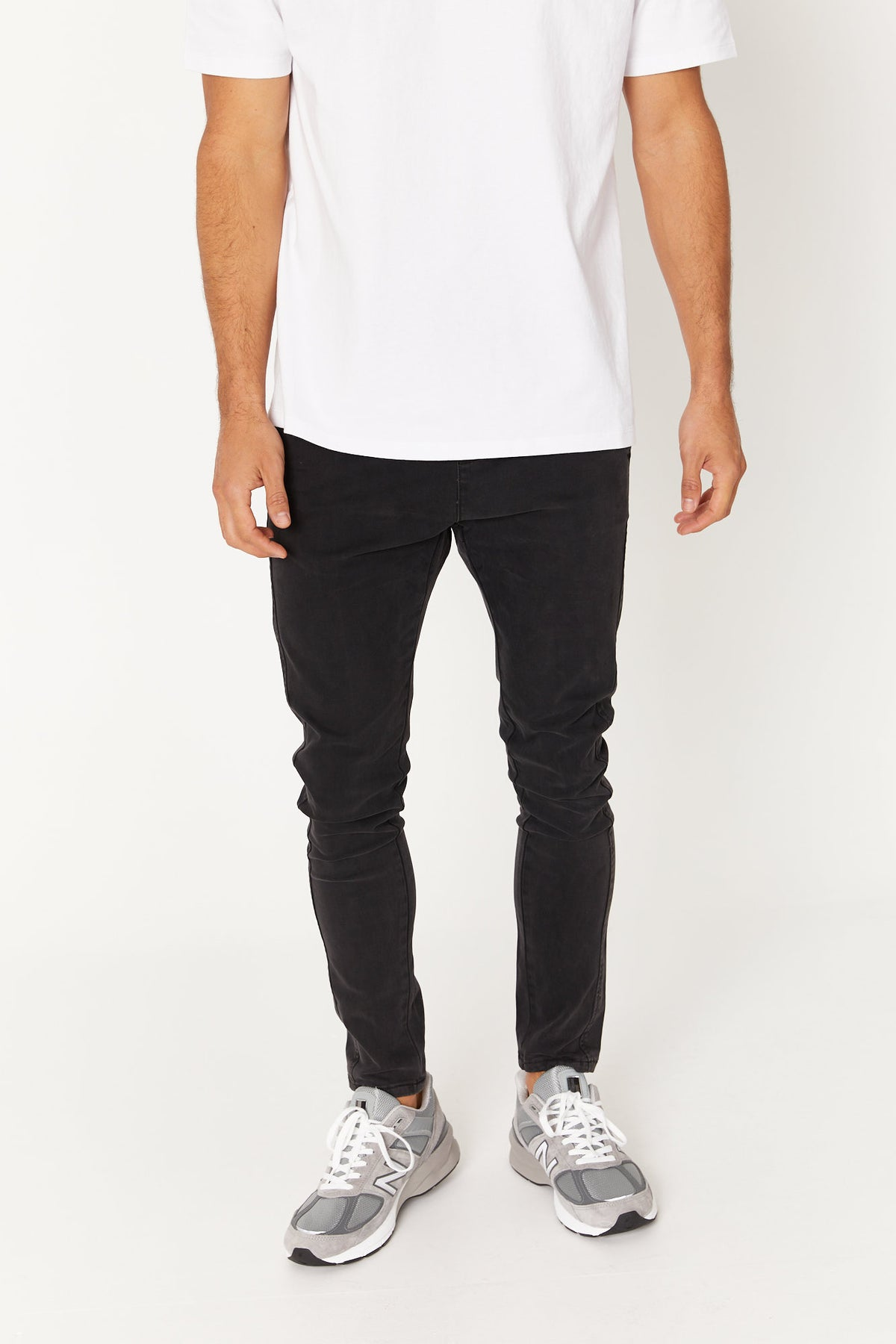 NTH Jogger Skinny Faded Black