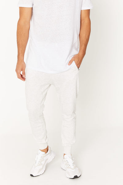 Phil Skinny Track Pant White Marle