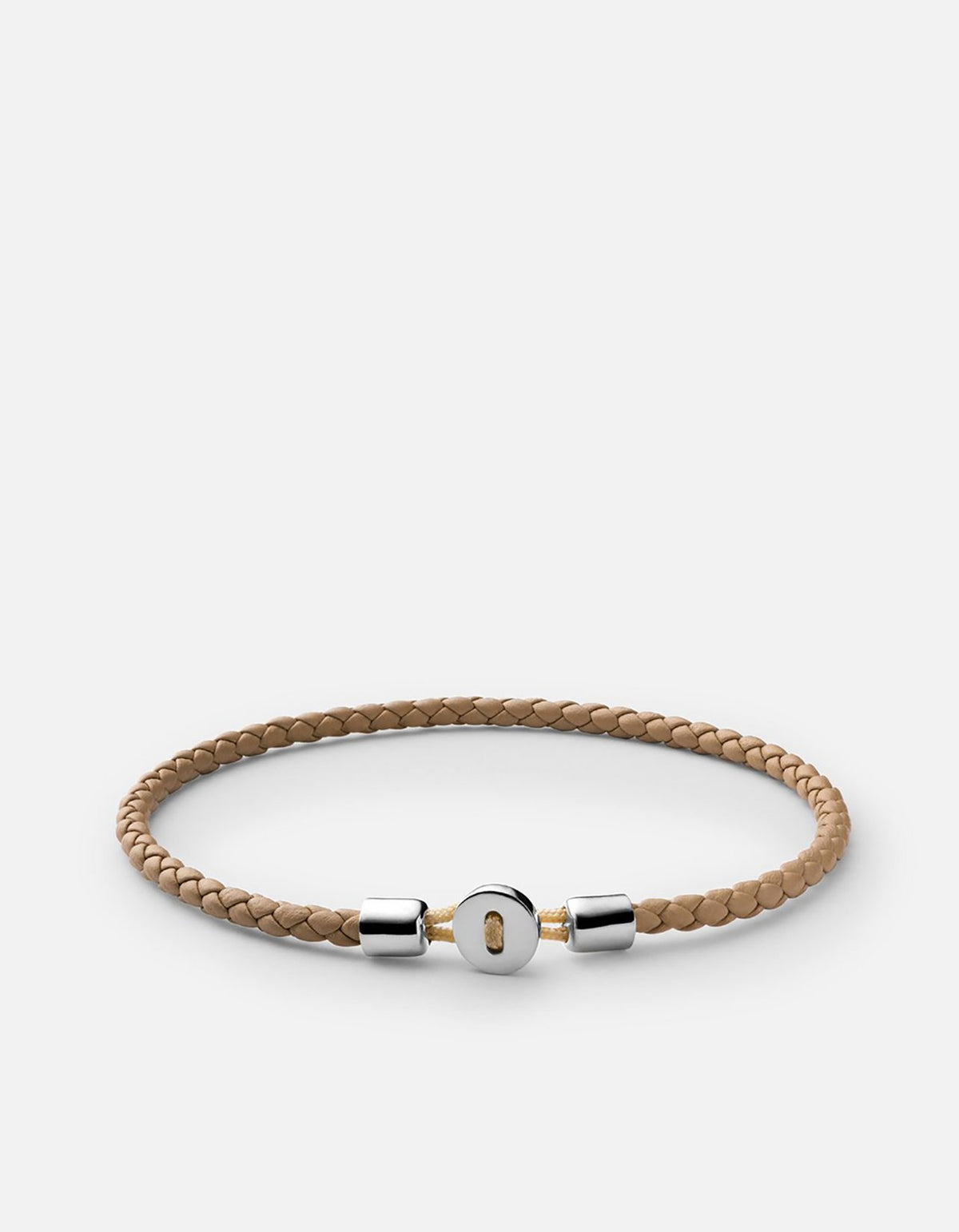 Miansai Nexus Leather Bracelet Natural