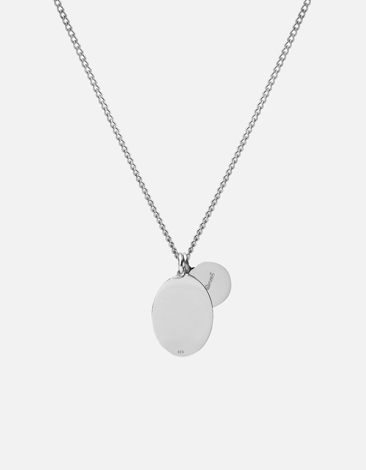 Miansai Mini Dove Necklace Sterling Silver