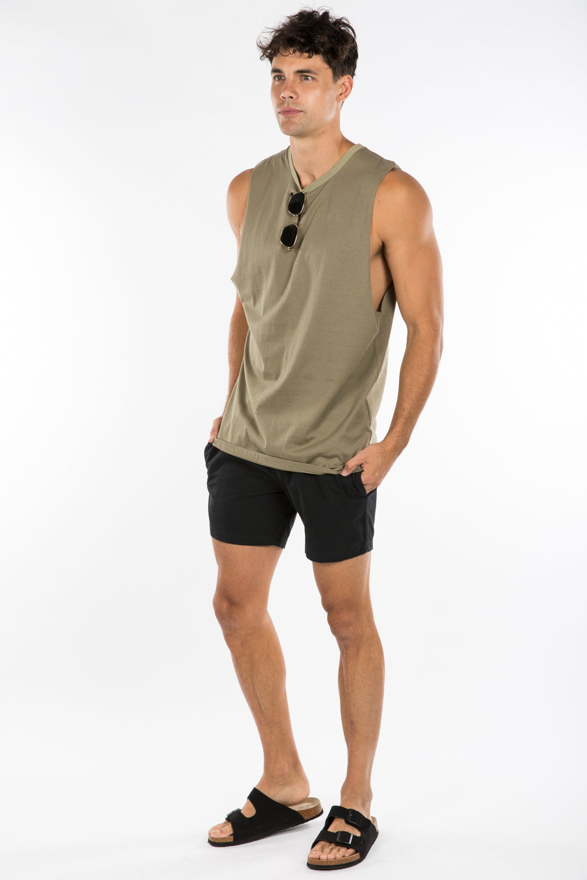 NTH Soft Wash Tank Khaki