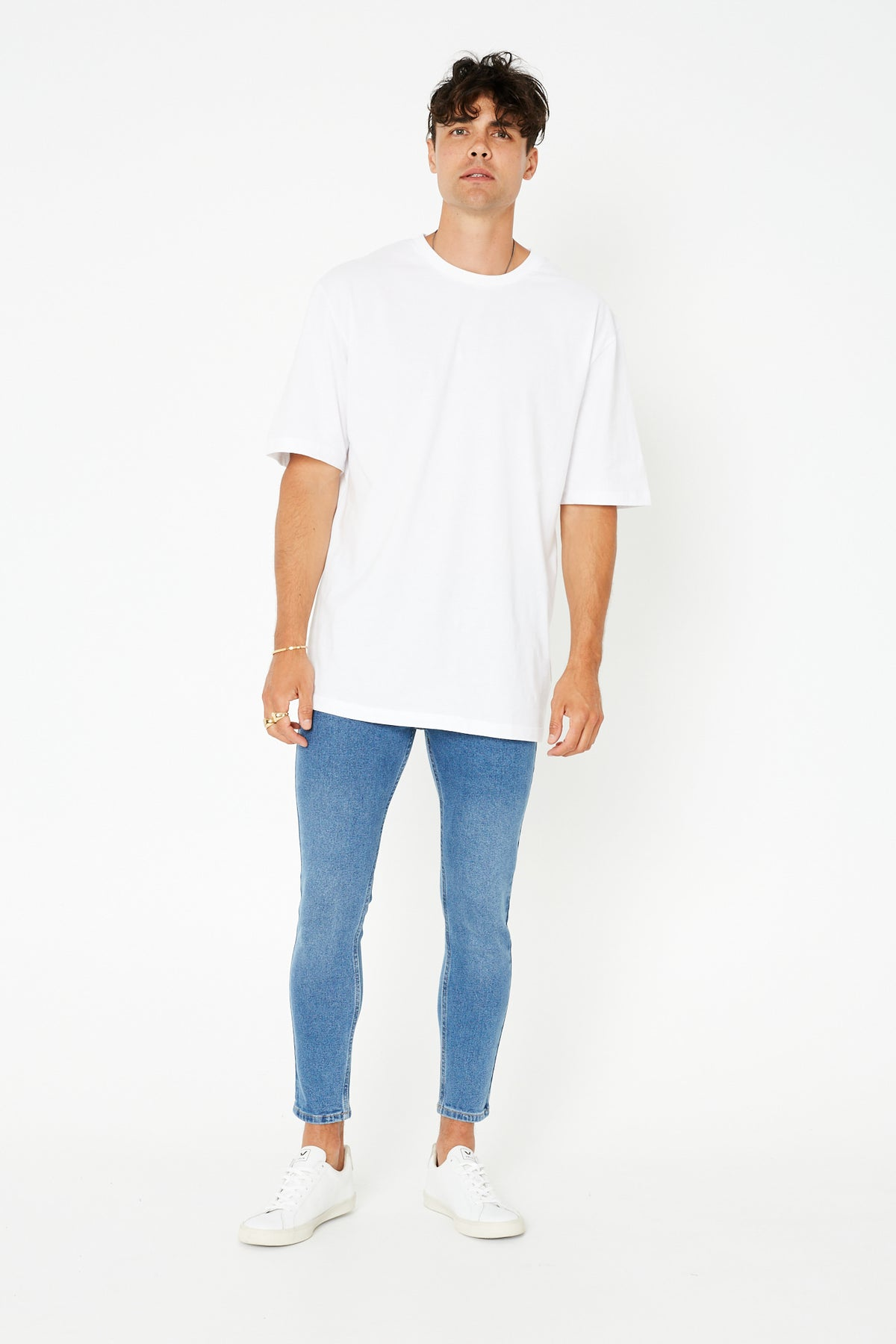 NTH Real Skinnys Mid Blue