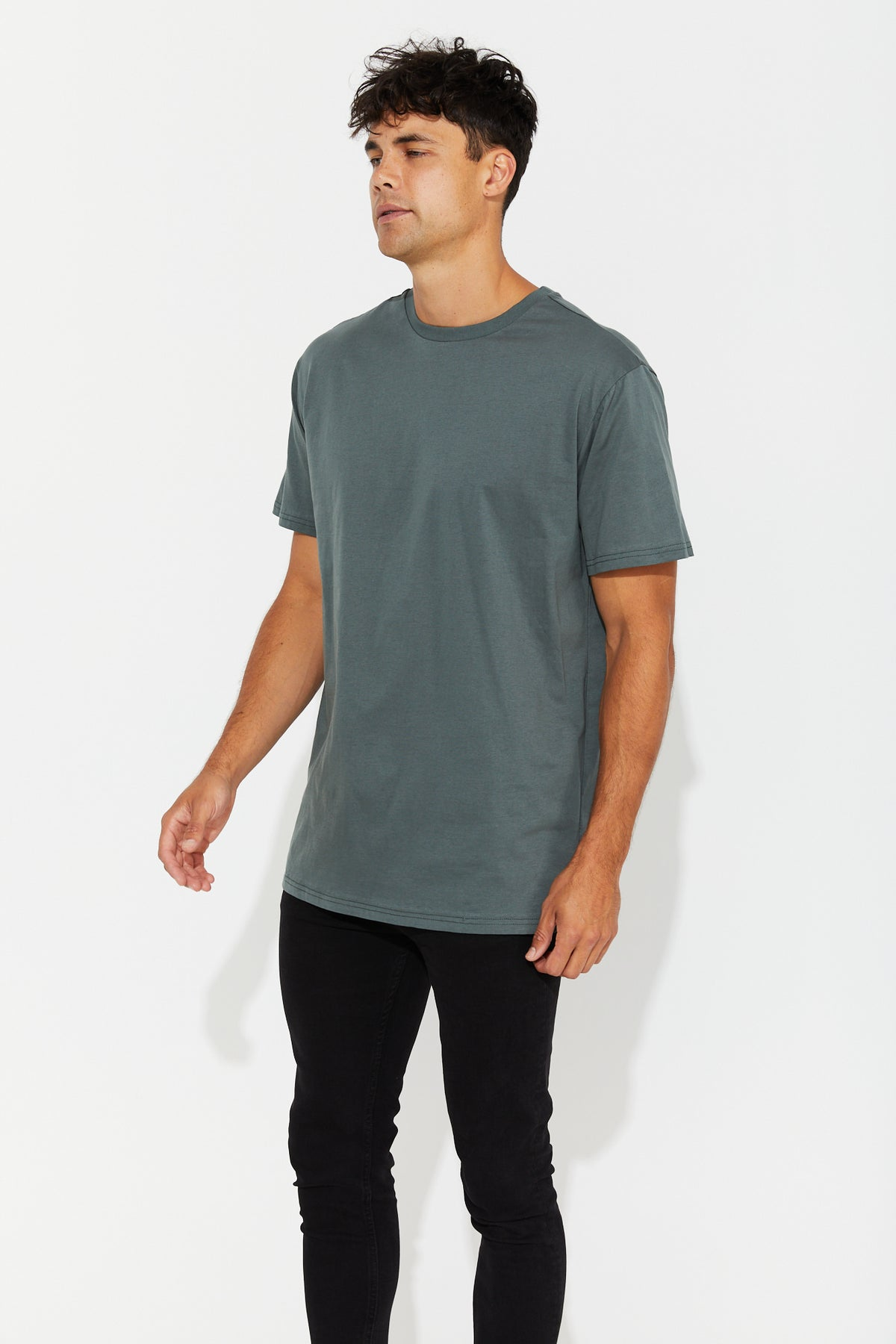 Nth Soft Wash Tee Emerald